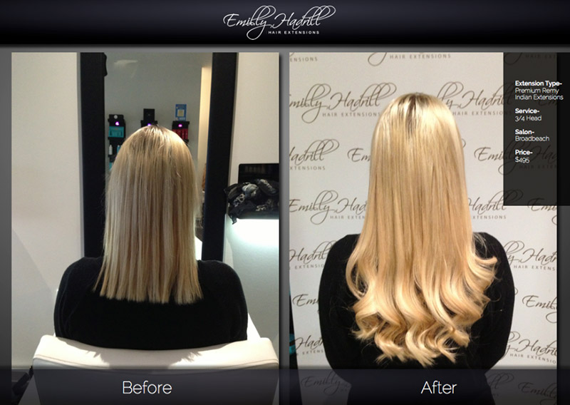 Emilly Hadrill Hair Extensions Hair Extensions Melbourne Beauty